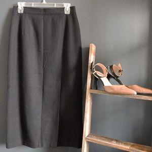 Vintage Long Pencil Skirt